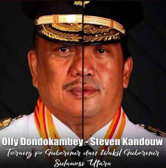 Gubernur Olly Dondokambey - Wakil Gubernur Steven O.E. Kandouw