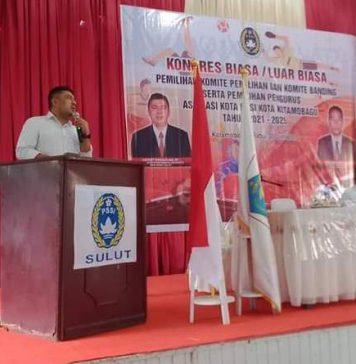 Ketua Askot PSSI Kotamobagu