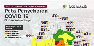 Peta Sebaran Covid-19 Kota Kotamobagu