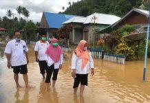 Desa Molobog Timur Tergenang Air